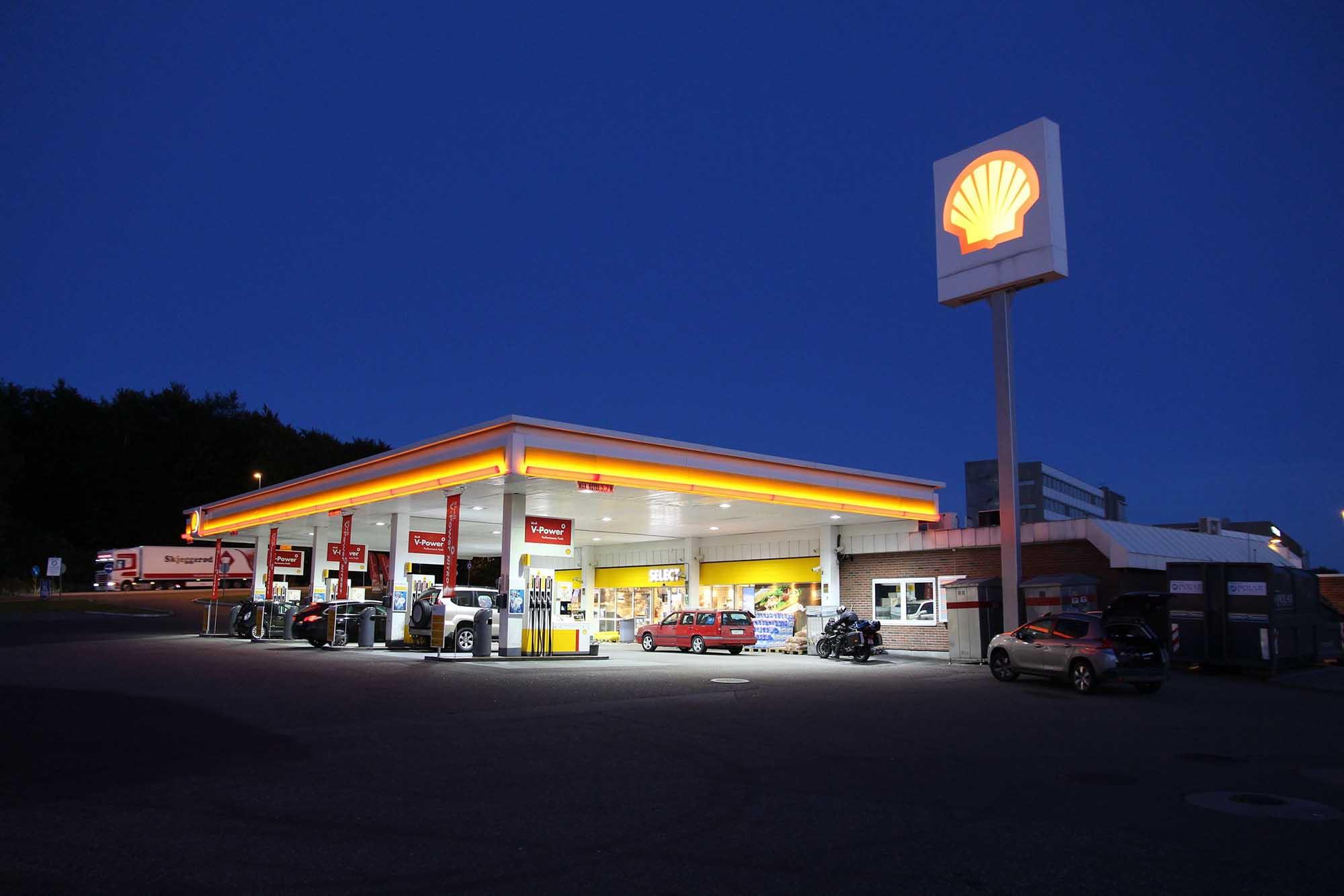 shell bensinkort