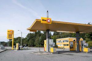 uno x bensinkort