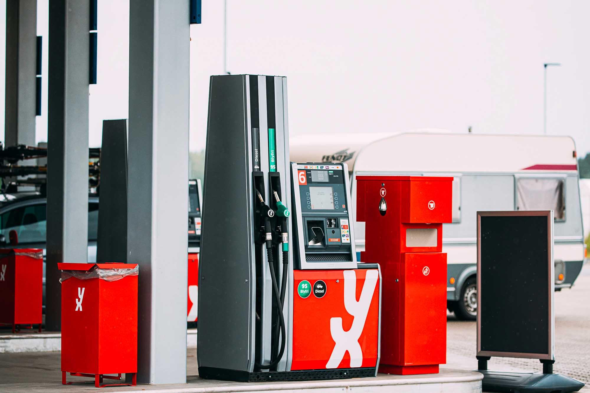 yx bensinkort